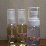 手作り化粧水・肌用/髪用・ビタミンE、C入り